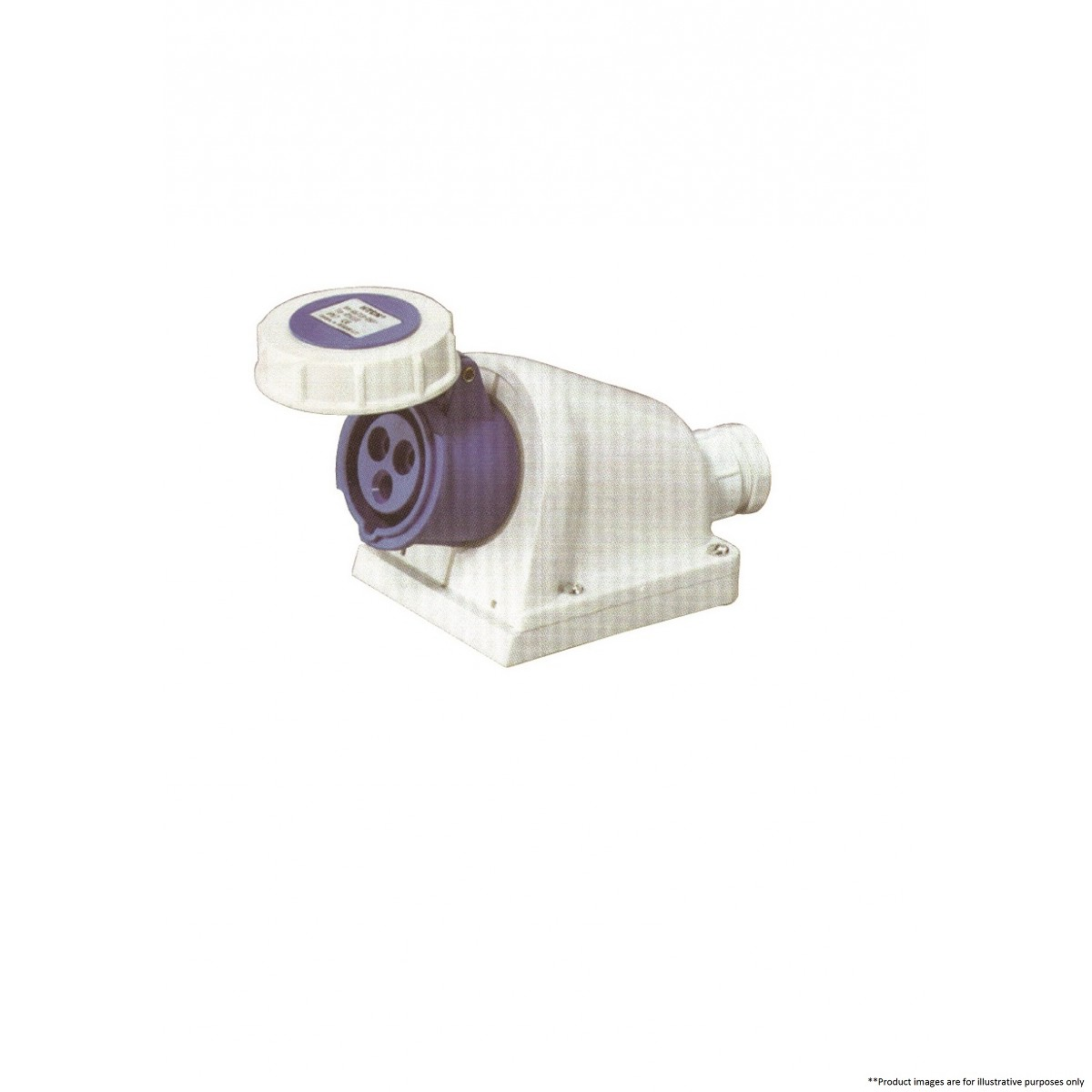 Wall Mounted Lamp Socket : HTCN 1231 WALL MOUNTED SOCKET - Coupler & Plugs - Accessories - By Category Marine Electrical ...