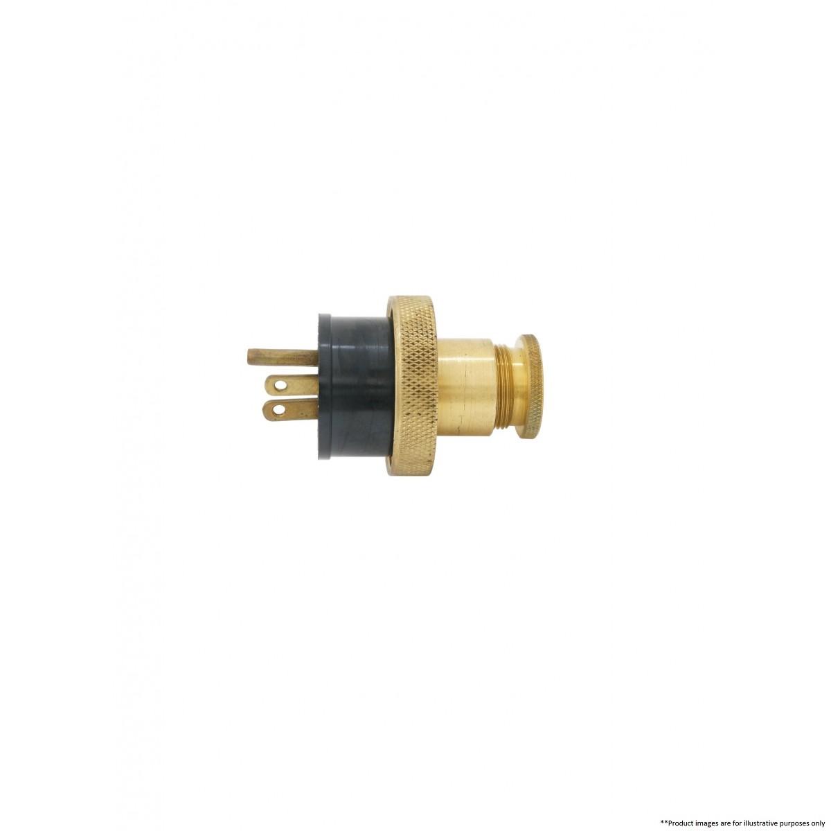 Pauluhn 2603bu 125 Marine Brass Plug Marine Electrical
