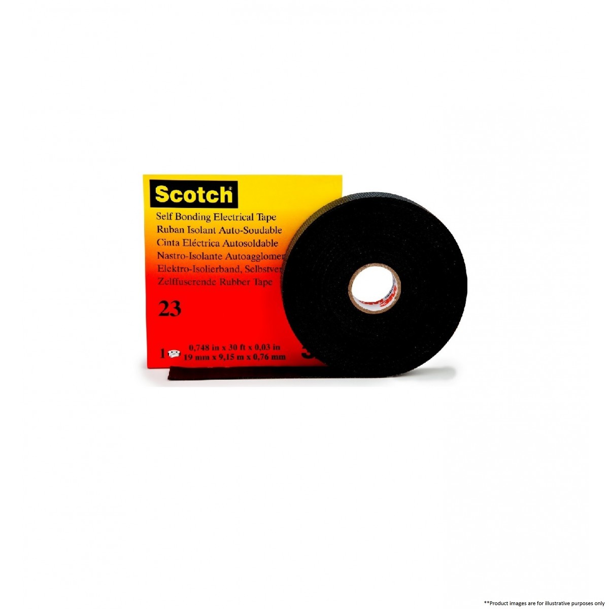 3m Scotch 23 Rubber Splicing Tape 3m By Brands