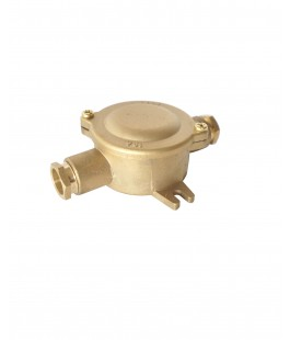 1151 BRASS HNA JUNCTION BOX