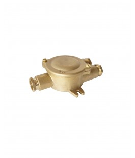 1156 BRASS HNA JUNCTION BOX