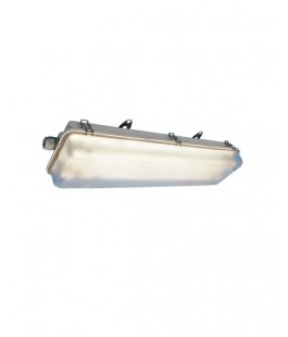 PAULUHN FPS260D2EM CLASS I DIVISION 2 FIBERGLASS REINFORCED POLYESTER EMERGENCY FLUORESCENT LIGHT